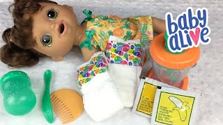 BRAND NEW Baby Alive MAGICAL MIXER BABY Doll Opening