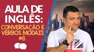 aula de ingles conversao verbos modais modal verbs