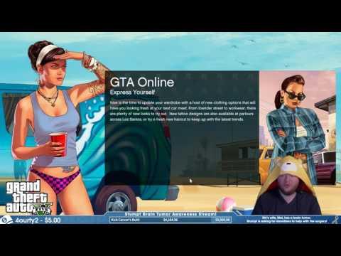 Charity Stream - #9 - GTA & Overwatch - May 29th, 2016