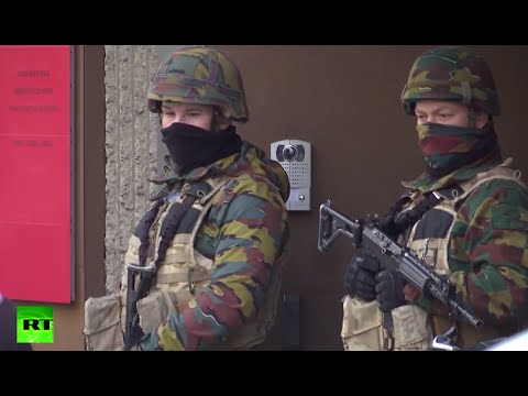 Army deployed in Brussels following multiple deadly blasts at airport, metro