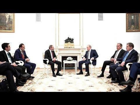 Почему политика новой власти Армении беспокоит Кремль. Обсуждение на RTVI