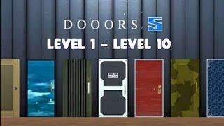 DOOORS 5 - LEVEL 1 2 3 4 5 6 7 8 9 10 WALKTHROUGH