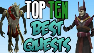 Top 10: BEST Quests for Rewards! [Runescape 2014]