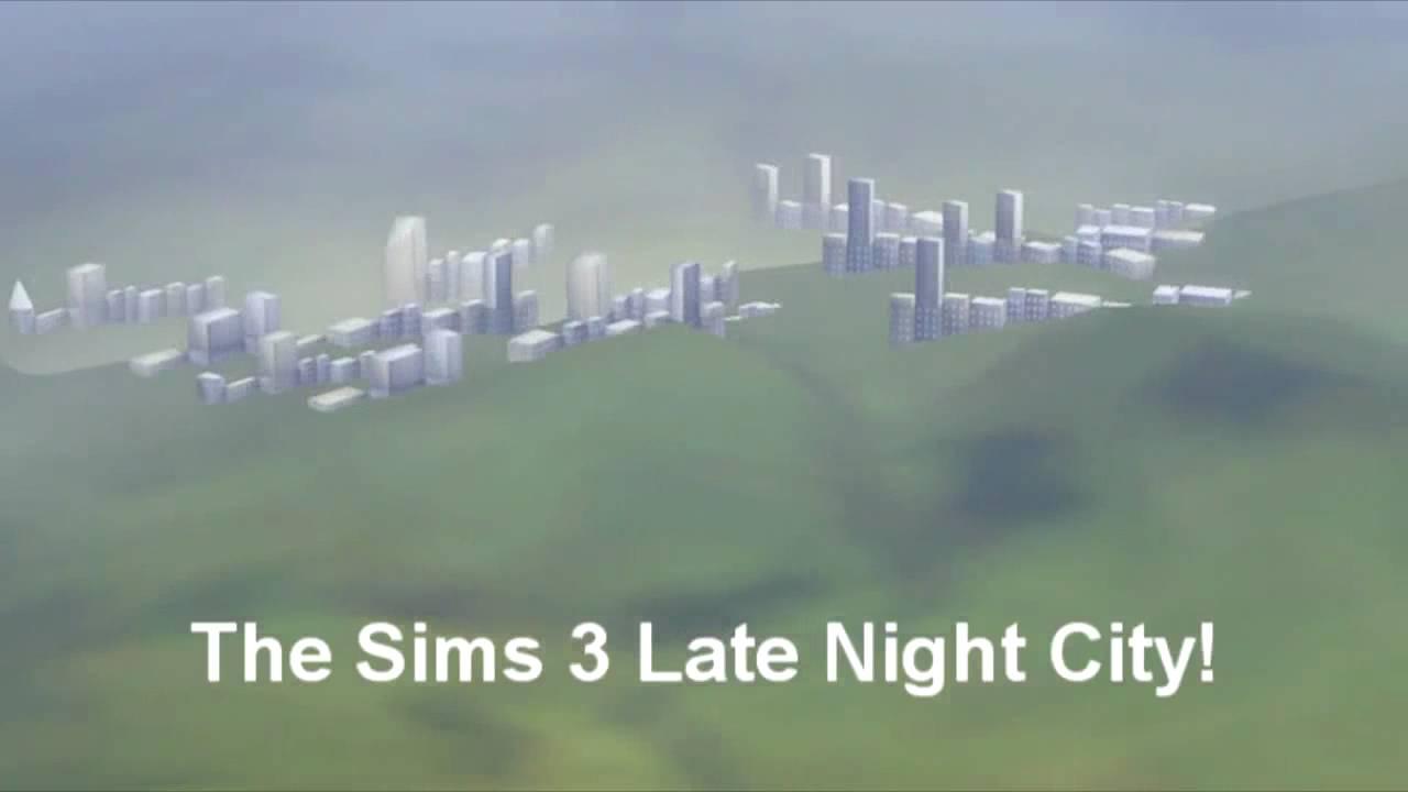The Sims 3 - Twinbrook's Secret Late Night City! Bridgeport Easter Egg!