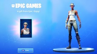 YOU CAN NOW GET FREE SKINS IN FORTNITE..