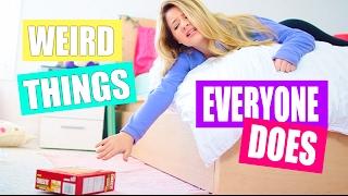 Weird Things Everyone Does + MACBOOK GIVEAWAY!