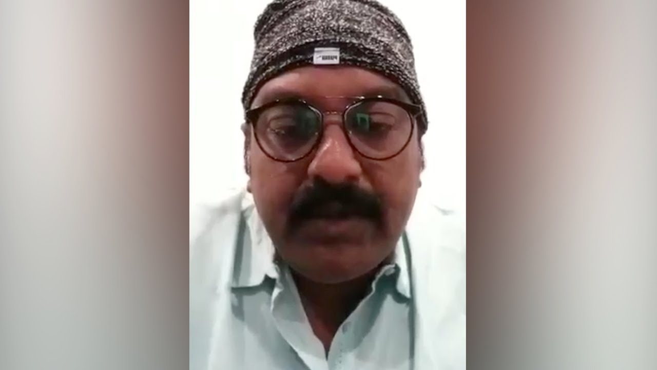 Director VV Vinayak's Video Message To A Doctor About COVID19 | Manastars