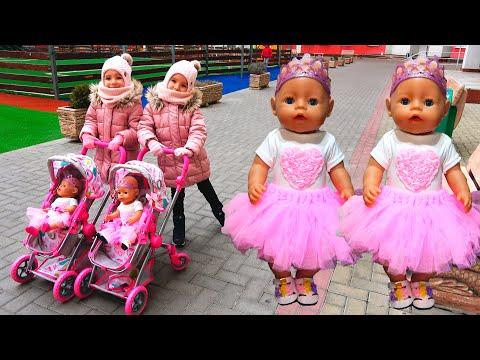 Куклы Беби Бон Настя и подарки на Новый год Видео для детей / Magic Twins