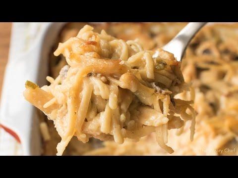 Baked Chicken Tetrazzini Youtube