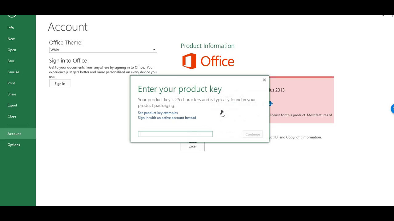 license key for microsoft office 2013 professional plus