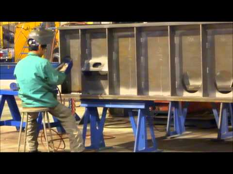 LARGE FABRICATION WELDING