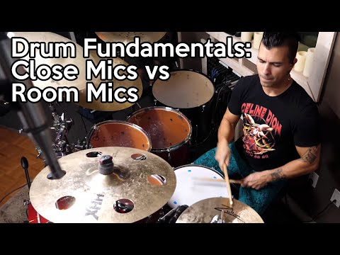 Drum Mic Shootout:  Close VS Room | SpectreSoundStudios TUTORIAL