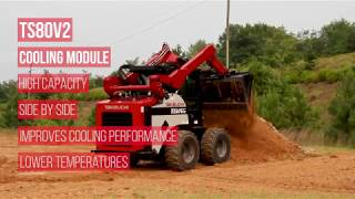 Video still for Takeuchi TS80V2 Cooling Module Feature