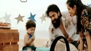 Yatharv Yash Birthday Video Making Funny Moment | Yash | Radhika Pandit | Ayra