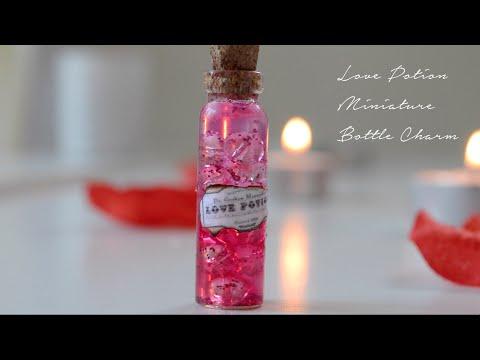 Love Potion Bottle Charm Tutorial