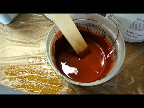 Mixing Epoxies for Spray Painting