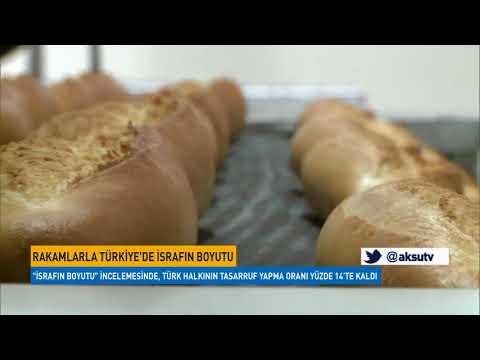 Rakamlarla Türkiye'de israfın boyutu