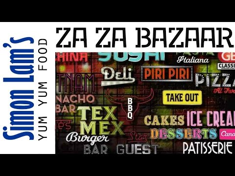 Za Za Bazaar Buffet Restaurant Bristol | Simon Lam's Yum Yum Food