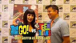 Teen Titans Go! Vs Teen Titans - Grey Griffin On Mrs. Claus