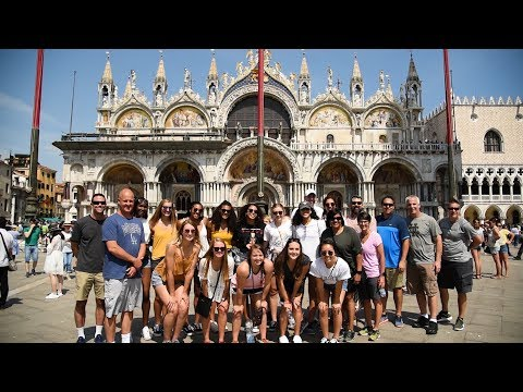 Texas Volleyball Europe Trip [July 14, 2018]