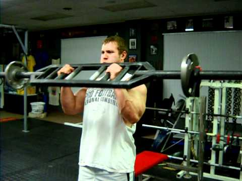 Swiss Bar curls