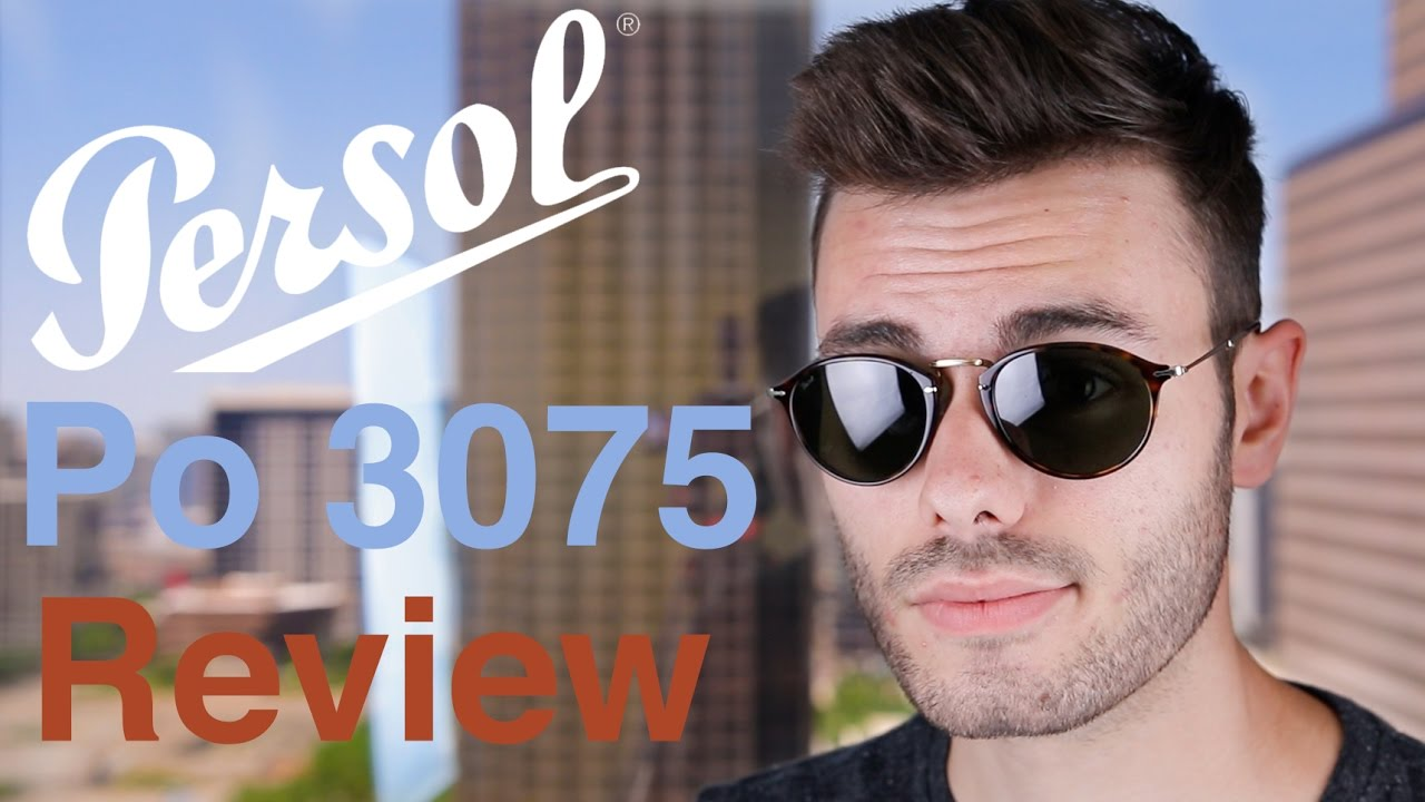 6c85c6822b87 Persol PO3075S Review - YouTube