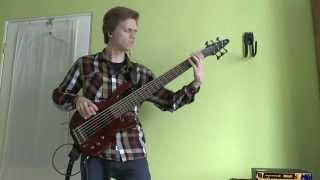 Haken - Falling Back To Earth (w/ my bass stem)