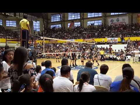 Ateneo Lady Eagles vs Banko Perlas Spikers in Bacolod