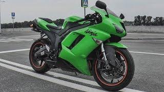 Да мне мамка СПОРТБАЙК купит, если без троек закончу! Тест драйв Kawasaki ZX6R. #Докатились!