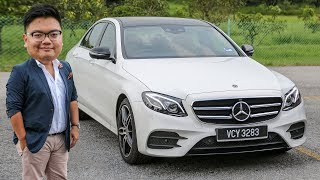 FIRST DRIVE: 2019 W213 Mercedes-Benz E350 AMG Line Malaysian review - RM400k