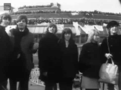 Maureen Starkey Footage - Flying To Austria 1965