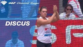 Sandra Perkovic 67.24 Wins Women's Discus Throw - IAAF Diamond League London 2018