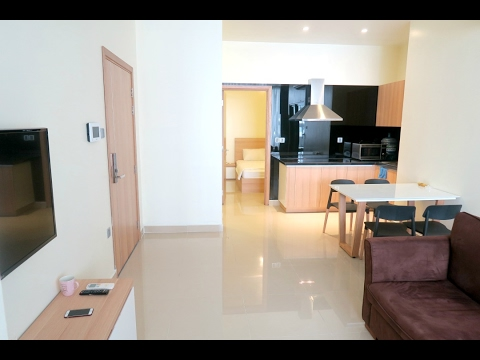 BEAUTIFUL INEXPENSIVE SERVICED APARTMENT TOUR | VIETNAM