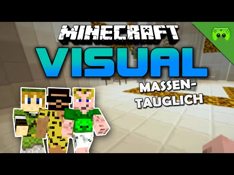 MINECRAFT Adventure Map # 55 - Visual Project 2 «» Let's Play Minecraft Together | HD