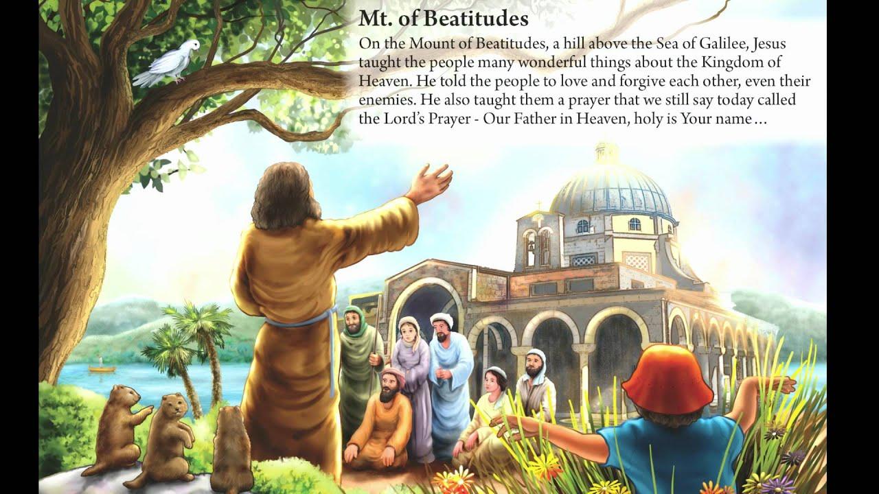 21. Mt. of Beatitudes - New Kids Book - YouTube