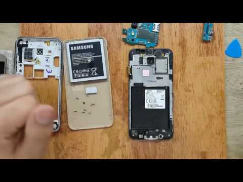 Cara memperbaiki LCD HP Layar Sentuh Pecah - YouTube