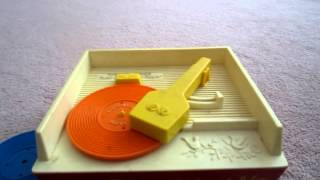 Fisher Price Record Player Vintage 1971 PLAYING ALL SONGS