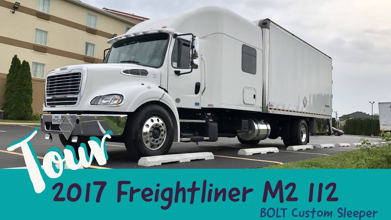 2017 Freightliner M2 112 Bolt Custom Sleeper Truck Tour
