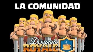 THE COMMUNITY CLASH ROYALE. What is it? What is? | Breakfast Royale | TheAlvaro845 | Spanish