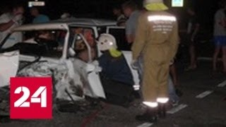 Смотреть видео Жертвами аварии на Ставрополье стали шесть человек - Россия 24 онлайн