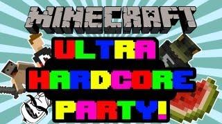 minecraft   ultra hardcore party w sweider monkeyp00 captainlazerguns and irysheman   s2