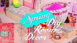 DIY: Spring Room Decor/Весенний декор комнаты/Tumblr inspired|Fosssaaa