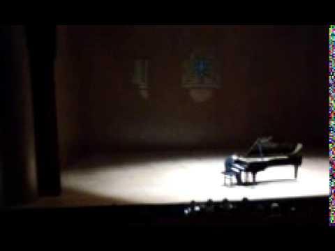 Andrea Bacchetti at Angel Brage Piano Series 2014, Part 1