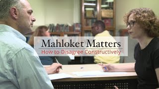 Mahloket Matters: How to Disagree Constructively, Unit 1: The Sanhedrin Way
