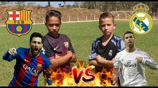 DESAFIO CR7 vs MESSI (Bolivia vs Aladdin) Real Madrid vs Barcelona