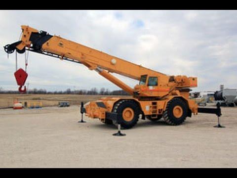 Grove RT 865 Rough Terrain Hydraulic Crane
