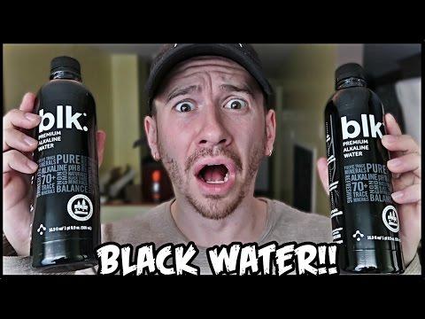 BLACK WATER TASTE TEST!!