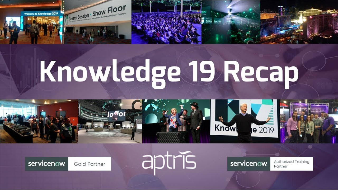 Key Takeaways from Knowledge19: Webcast with Aptris CEO Tim