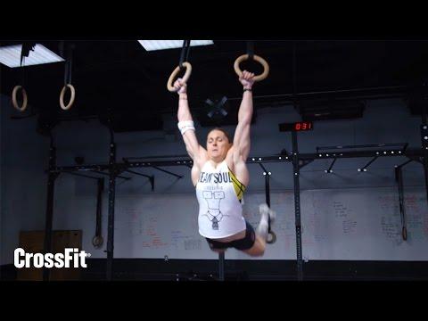 Sam Briggs, 30 muscle-ups in 3:03