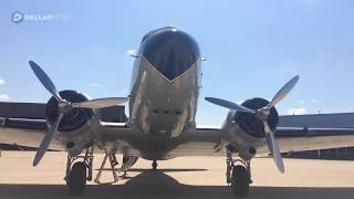 World War II airplane stops in Texas as part of world tour